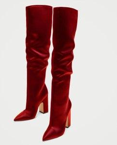 5004201020_2_1_1 zara sateen boots £79.99