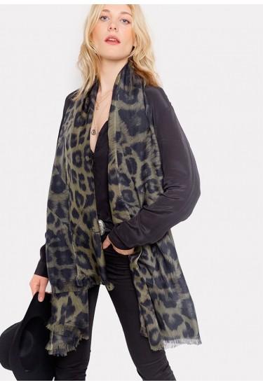 kitty-khaki-scarf L&L £140