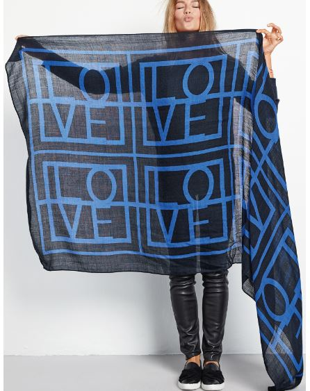 Hush Love scarf £55