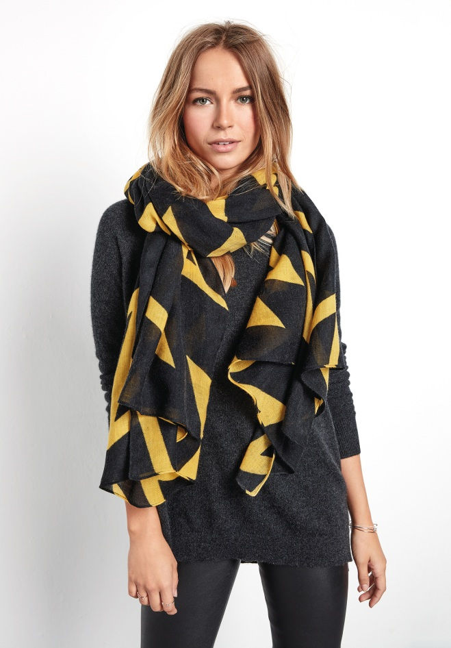 Hush Zig Zag scarf £45