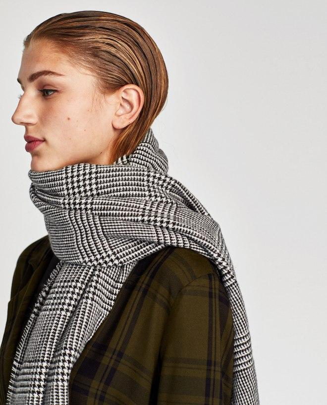 Zara Check Scarf £17.99