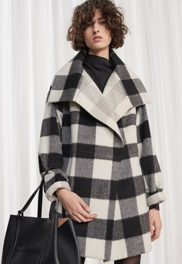 French Connection Jackie Checked Coat £235