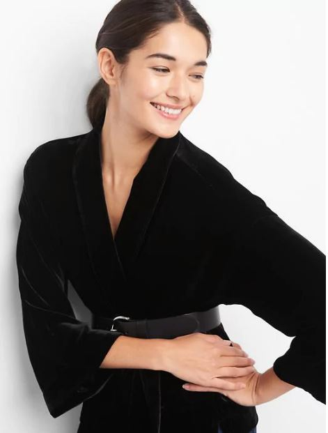 Gap Velvet Swing Kimono £79.95
