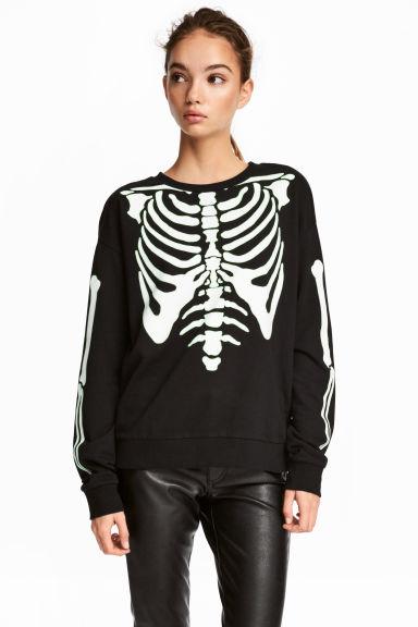 H&M printed sweatshirt £6.99