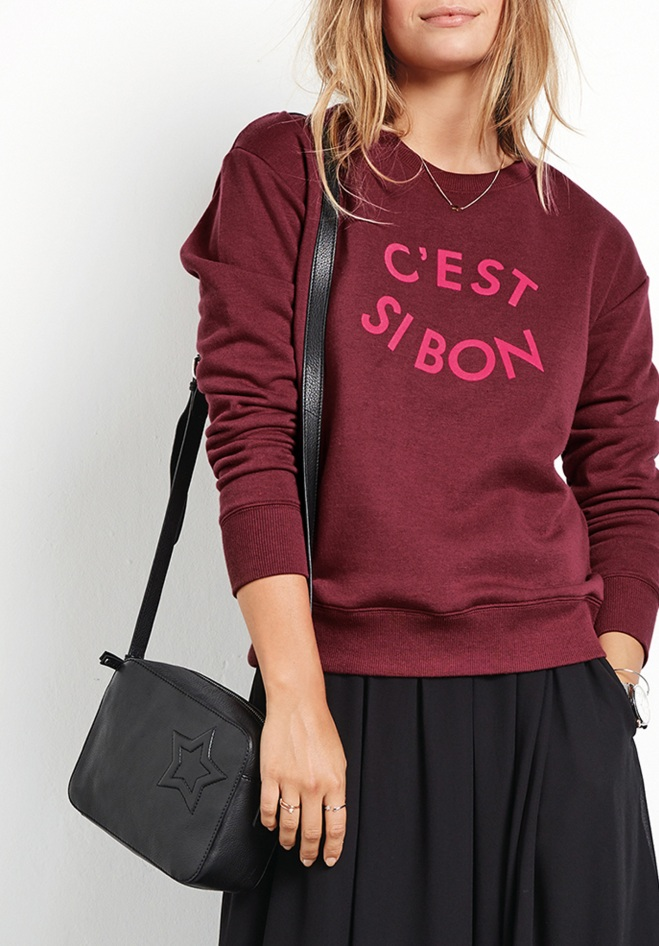Hush C'est Si Bon Sweat £49