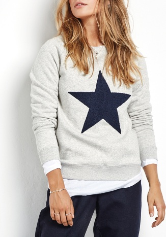 Hush Star Biker Sweat £49