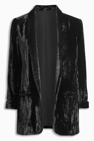 Next Crushed Velvet Jacket £58