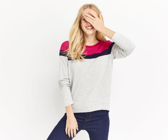 Oasis ColourBlock sweat shirt £28