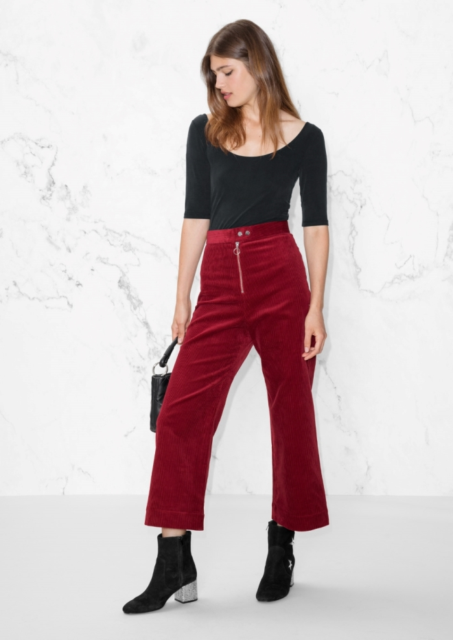 & Other Stories cropped trousers £69