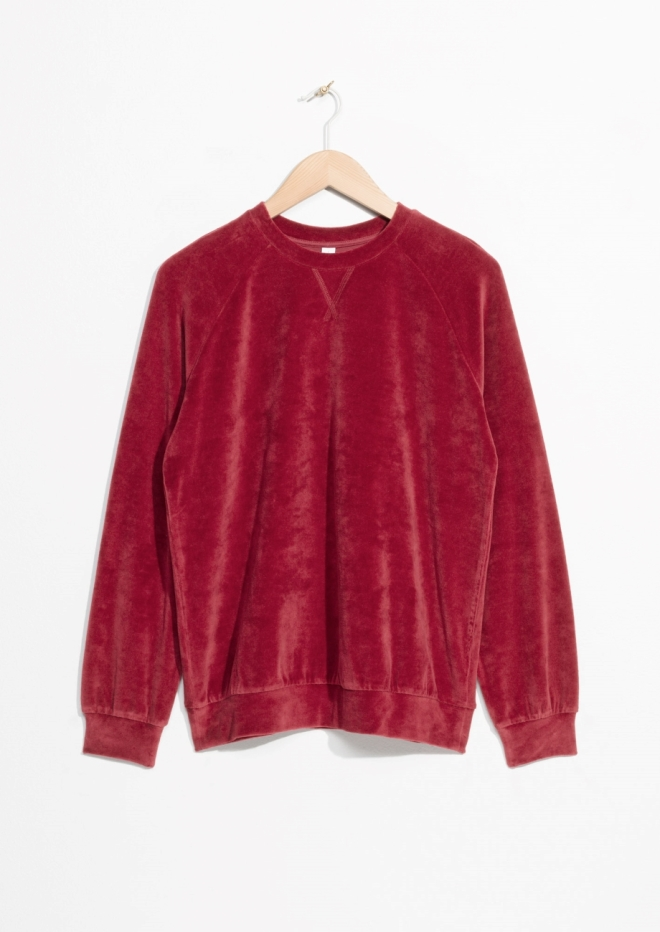 & Other Stories Velvet Sweat £49