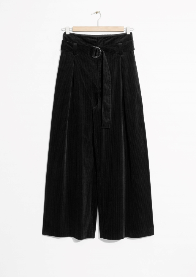 & Other Stories wide corduroy trousers £69