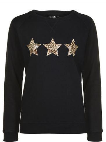 Sweats.co Leopard Star sweatshirt £49.00