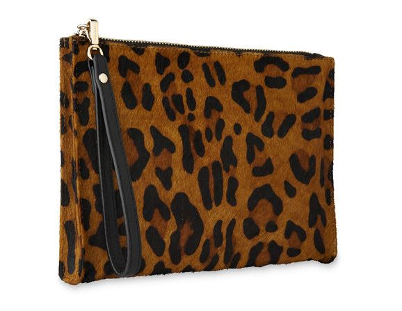 Whistles Leopard Wristlet £65.00