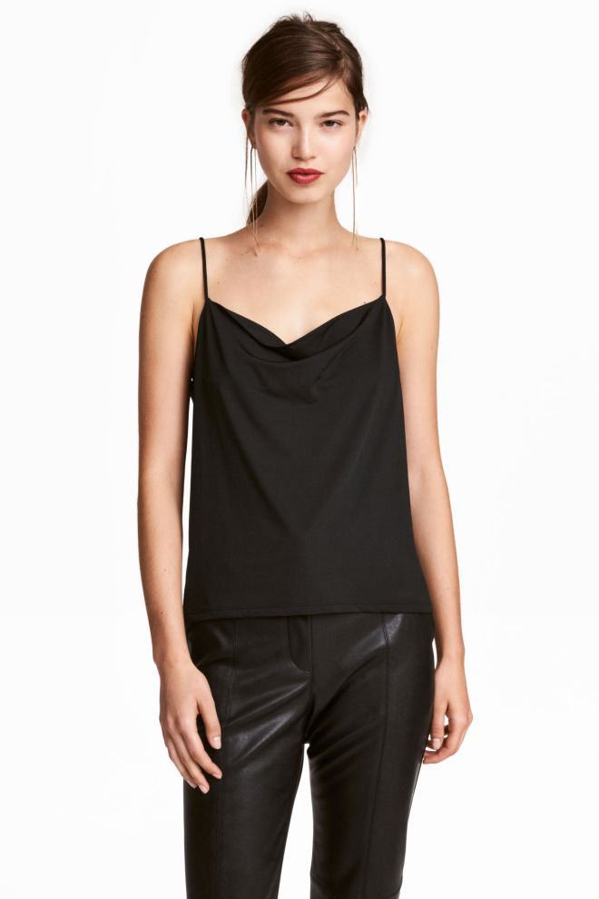 H&M draped top £8.99