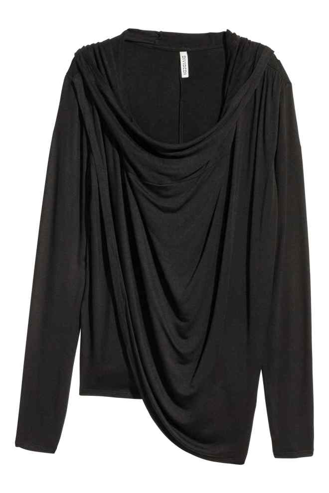 H&M drapped hooded top £24.99