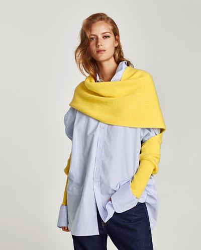 Zara multi position scarf £17.99