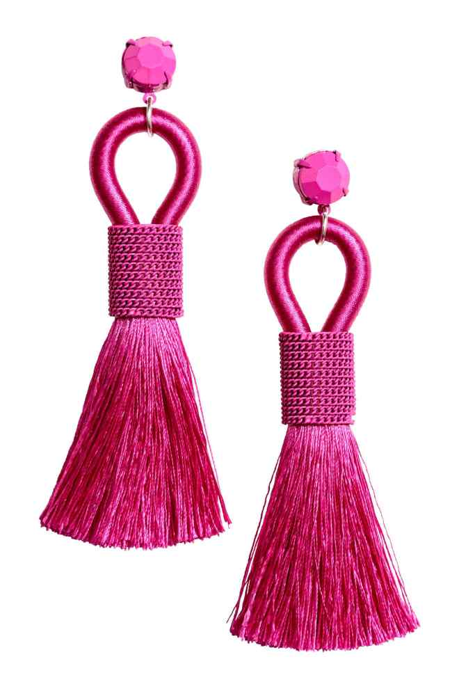 H&M tassle earrings £9.99