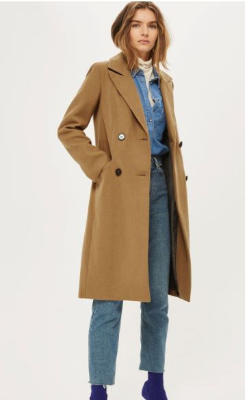 Topshop Editors Coat was £95, now £60