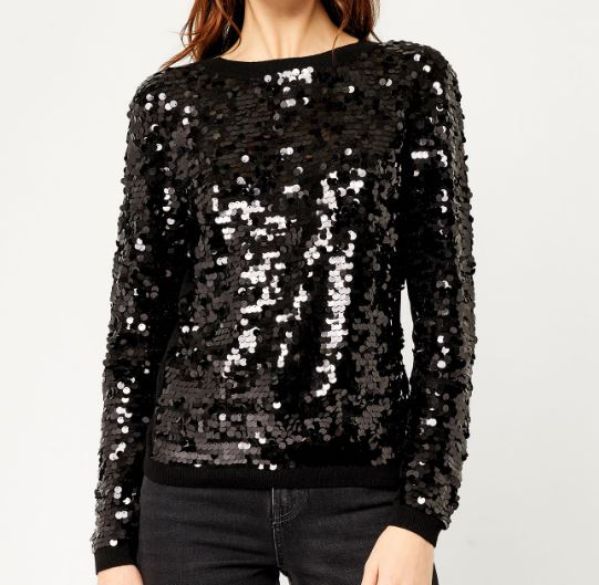 Warehouse Sequin Jumper £46