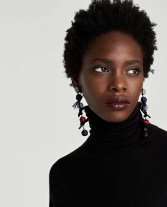 Zara long earrings £9.99