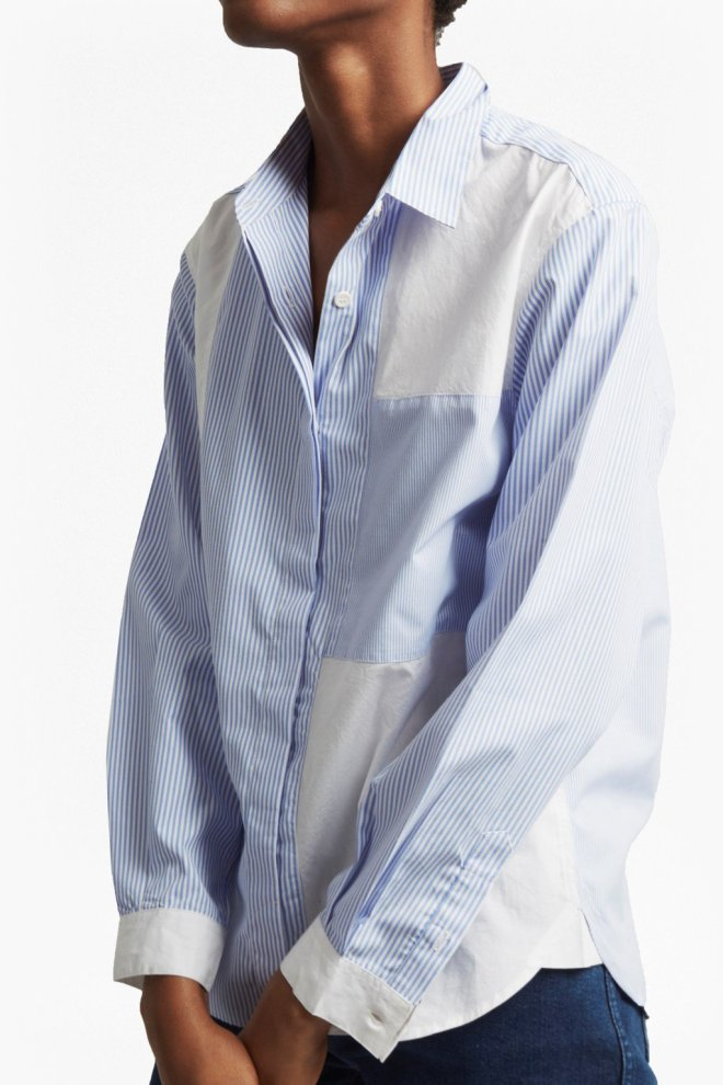 French Connection City Stripe shirt £20, was £55
