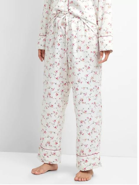 Gap Dreamwell satin sleep pant £27.95