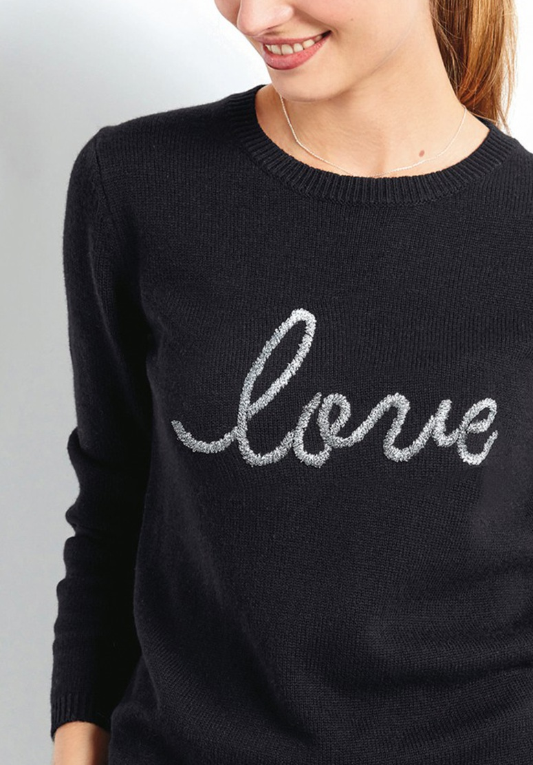 Hush Love embroidered jumper £60, was £85
