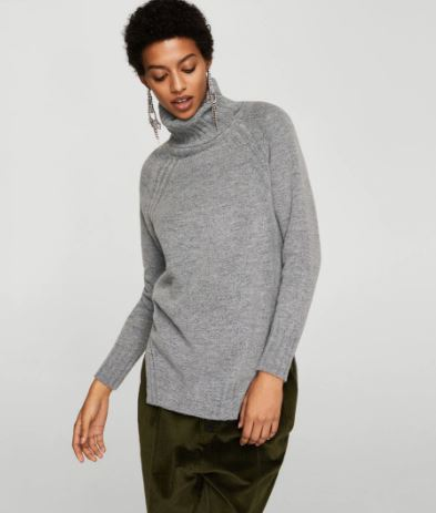 Mango Turtleneck sweater £15.99