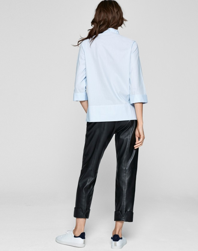 Me+Em pale blue shirt, £47, was £159