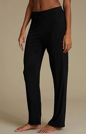 M&S black pj trousers £10