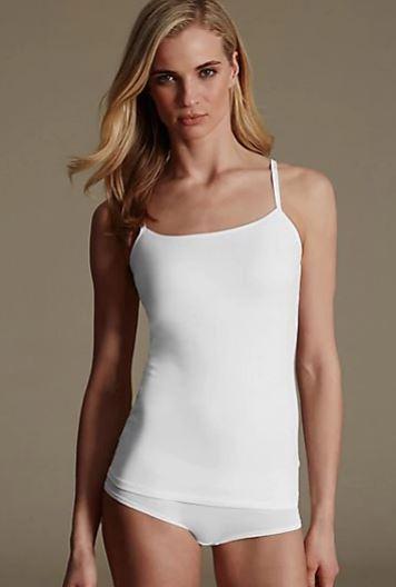 M&S Secret Support strappy bra vest £12.50