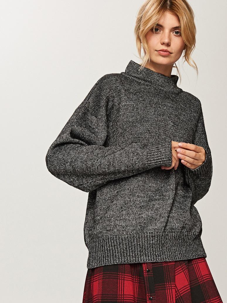 Reserved Metallic sweater £19.99