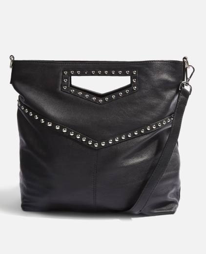 Topshop Leather Studded Grab bag £42