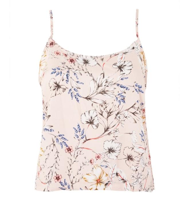 Topshop Sketchy Floral Cami Top £14