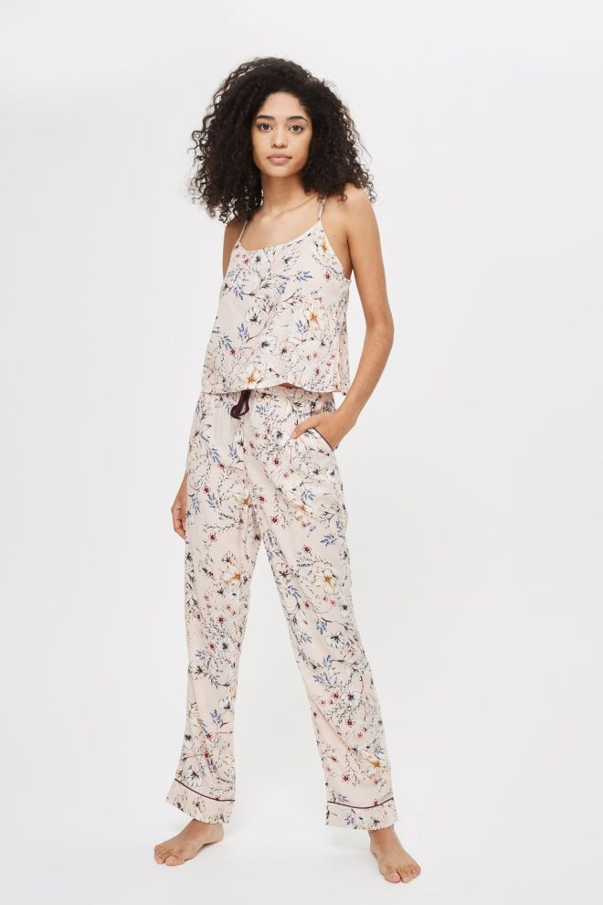 Topshop Sketchy Floral Trousers £19