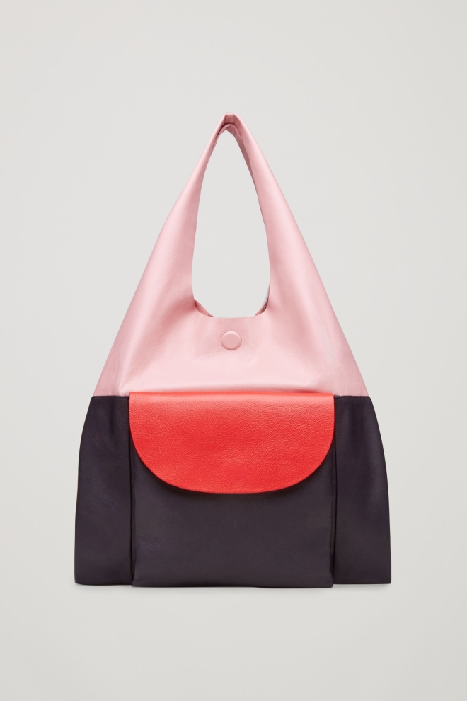 Cos Colour Block Tote bag £125