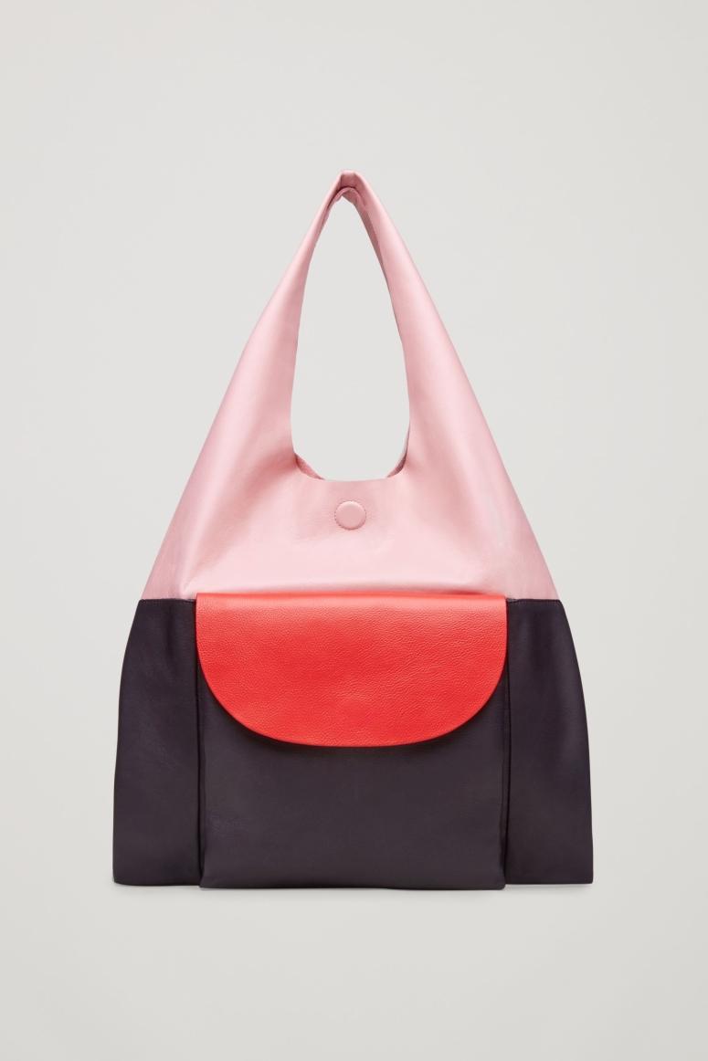 Cos Colour Block Tote bag £125