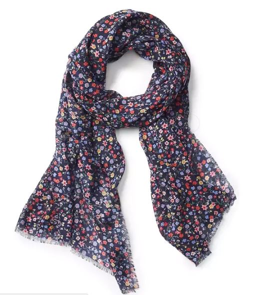 Gap Oblong ditzy floral scarf £14.95