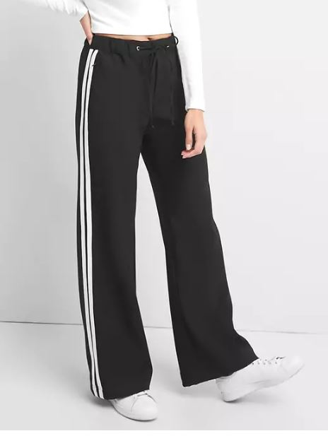 Gap Sporty wide-leg twill pants £45.95