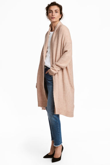 H&M long knitted cardigan £24.99