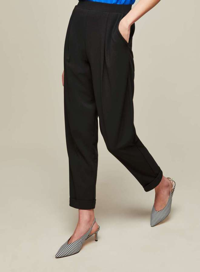 Miss Selfridge black jersey joggers £28