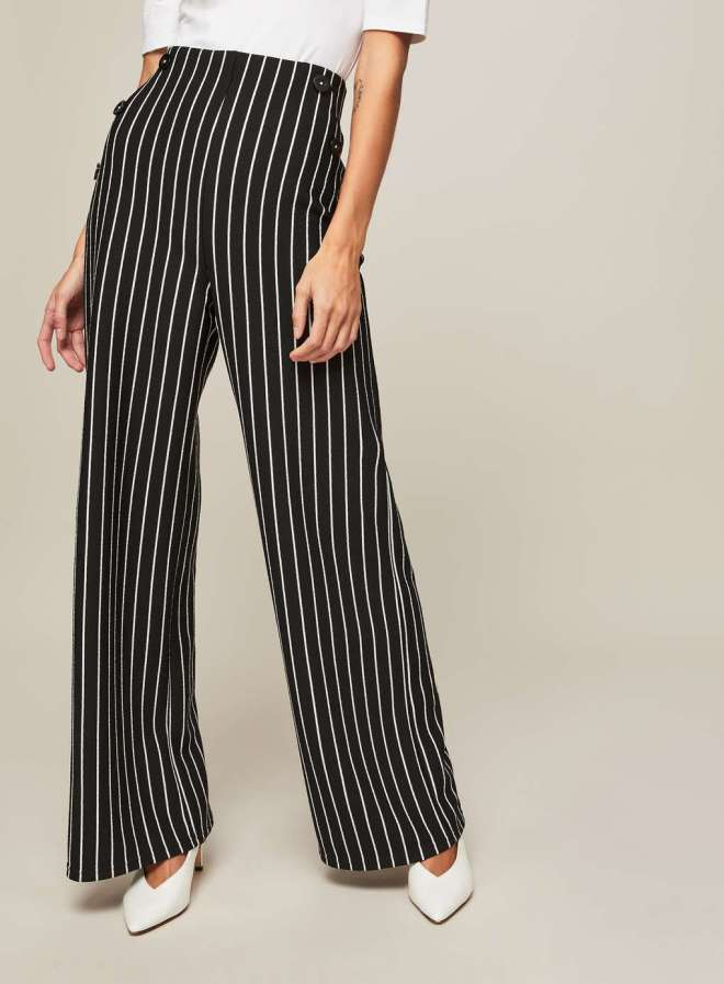 Miss Selfridge wide leg trousers £30