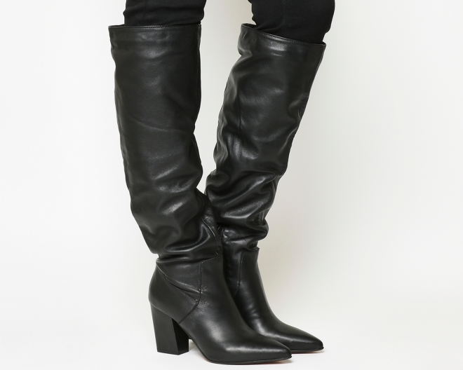 Office Slouch boot £72, was £130