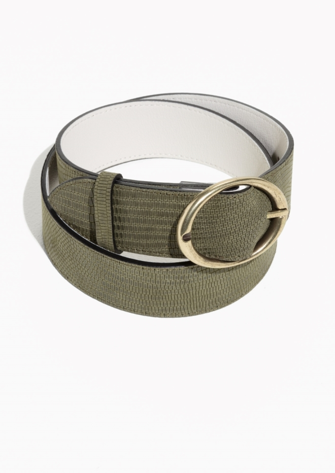 & Other Stories leather belt £35