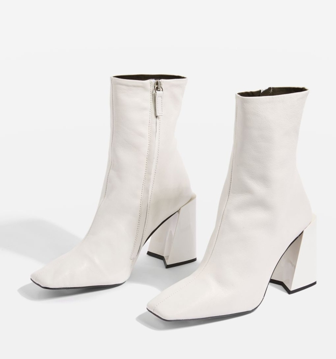 Topshop Harp Ankle boots £85