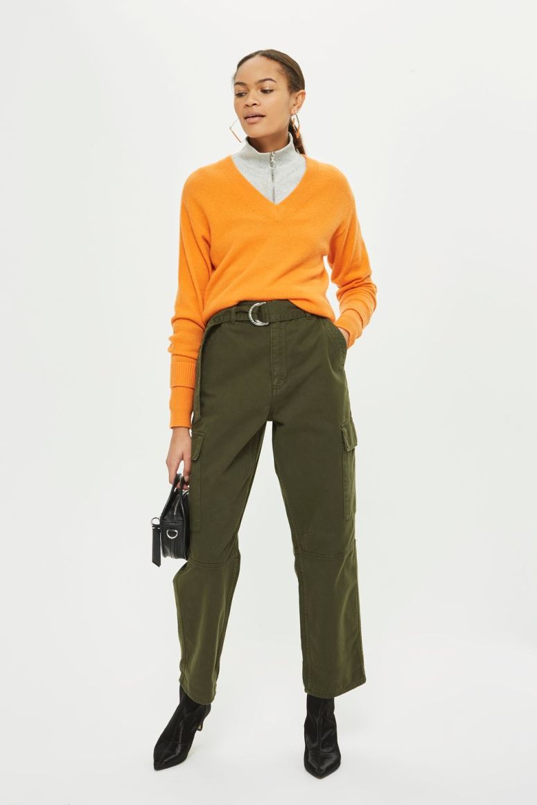 Topshop High Waisted Utility Trousers £45