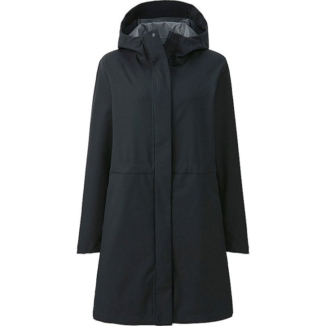 Uniqlo blocktech hooded raincoat £69.90