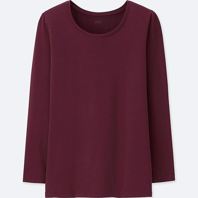 Uniqlo heat tech crew neck £9.90