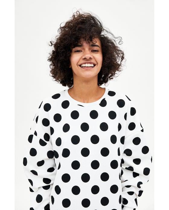 Zara sweatshirt £15.99