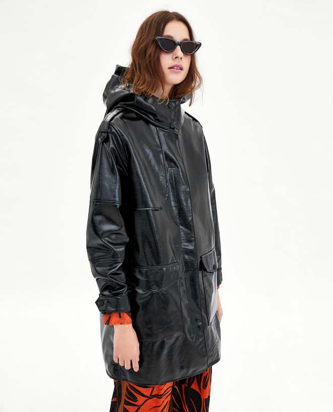 Zara water repellant rain coat £69.99